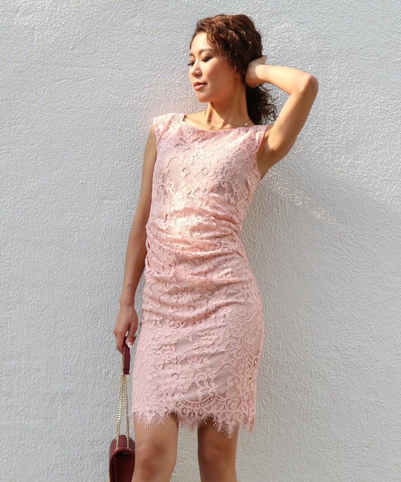 レースクラシックギャザードレス