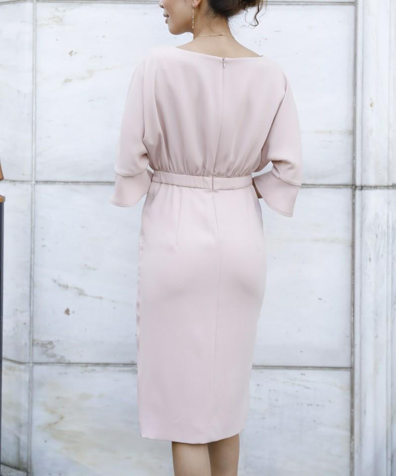 ハイスリットレースドレス