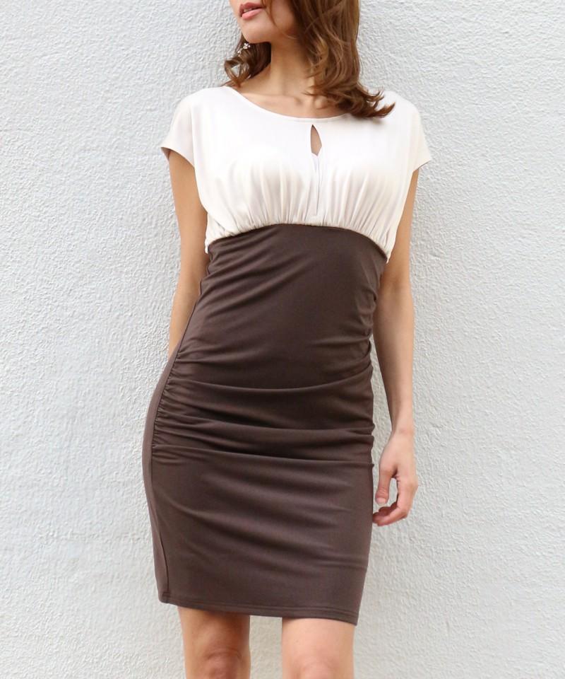 シャイニーギャザードレス