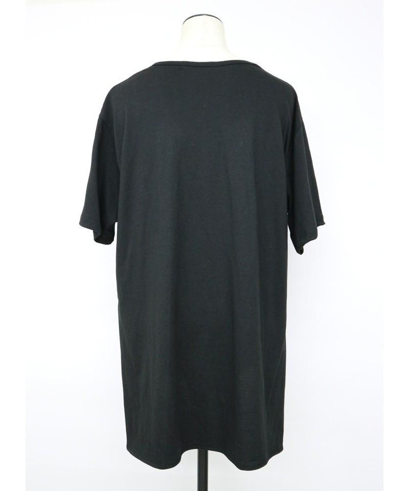 バックロングイージーTシャツ