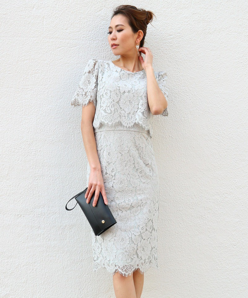 《DRESS FAIR》コードレースドッキングドレス