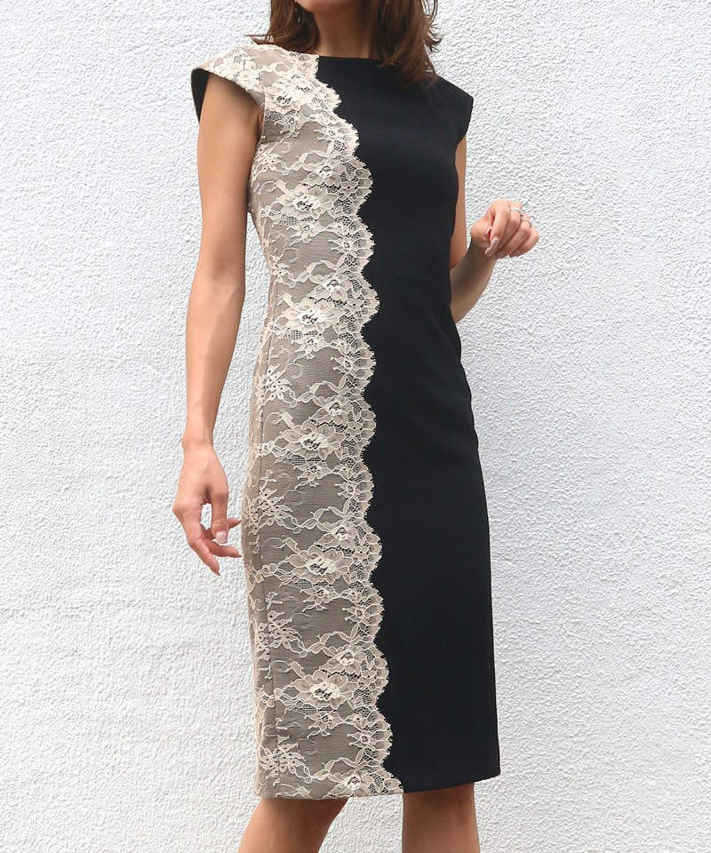 サイドレースドレス
